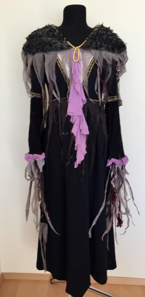 fekete szőrös vállú zombi jelmez - Broadway egyedi ruha és ... b494e85286