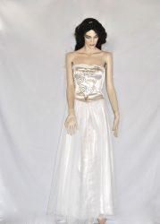 Fehér keringő ruha