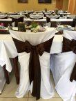 Klasszikus székszoknya fehér színben