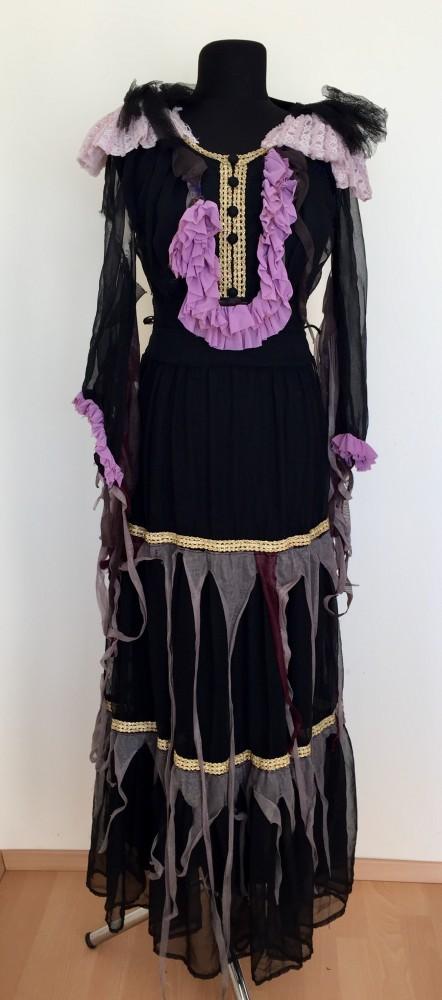 Fekete zombi jelmez - Broadway egyedi ruha és jelmezkölcsönzés b82e6311f3