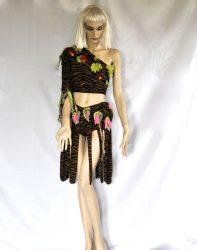 Tarzan félvállas női ruha