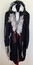 zombi fekete kabát