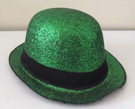 csillogó kalap